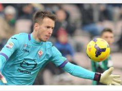 Barcelona's back-up goalkeeper Neto