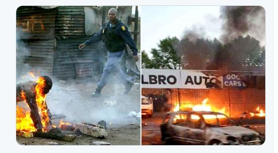 xenophobic attacks on Nigerians in South Africa