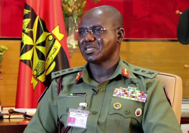 Boko Haram, Chief of Army Staff (COAS) Lt. Gen. Tukur Buratai