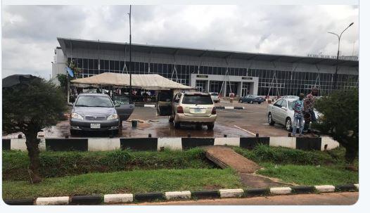 Akanu Ibiam International Airport Enugu. #FixEnuguAirport #EnuguAirport