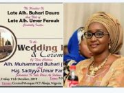 Rumour: Alleged #TheWedding between buhari and Sadiyya, locking of Aisha breaks internet