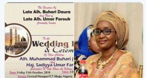 Rumour: Alleged #TheWedding between buhari and Sadiyya, locking of Aisha breaks internet