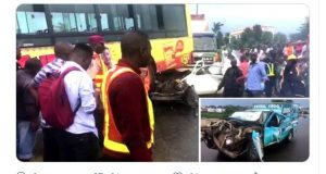 Video: Multiple accidents on Otedola Bridge claims at least two lives
