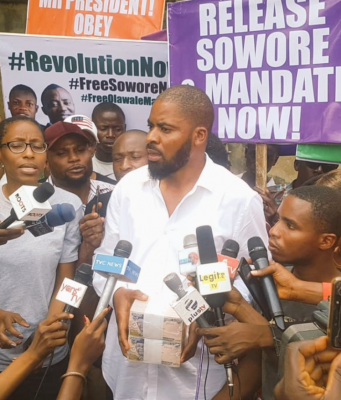 Adeyanju, Sowore, government,