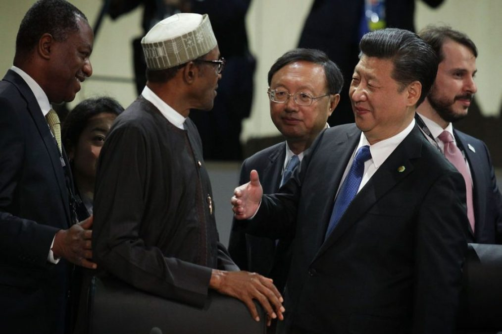 Buhari and Chinese President, envoys, How the Chinese are taking over Nigeria's economy
