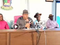 Dickson addresses world conference after Bayelsa election