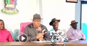 Dickson addresses world conference after Bayelsa election