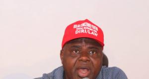 Peoples Democratic Party Governorship candidate in Bayelsa State, Senator Douye Diri