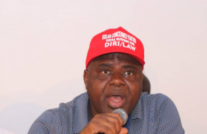 Peoples Democratic Party Governorship candidate in Bayelsa State, Senator Douye Diri