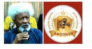 Wole Soyinka and Amotekun