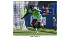 Nigerian star, Asisat Oshoala