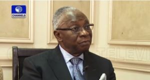 former permanent secretary before and after the Nigerian civil war, Chief Philip Asiodu