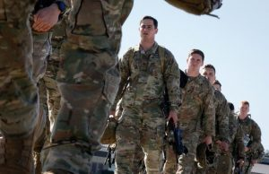 US soldiers deployed to Middle East