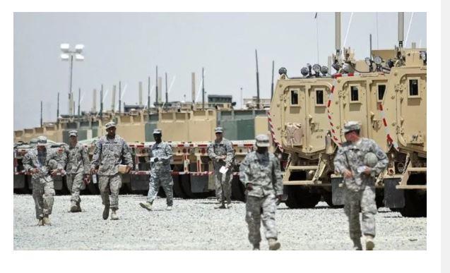 US army, Kuwait