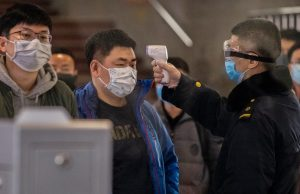 Coronavirus testing in Wuhan, China