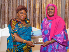 Patience Jonathan and Aisha Buhari