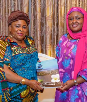 Patience Jonathan and Aisha Buhari