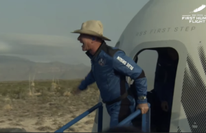 Jeff Bezos, three other astronauts return to Earth from space