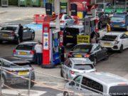 UK petrol scarcity