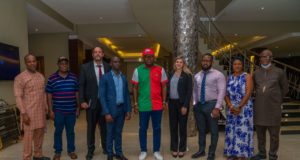 Nov Anambra poll: PDP's Valentine Ozigbo receives US delegation; Discuss Security, transparency
