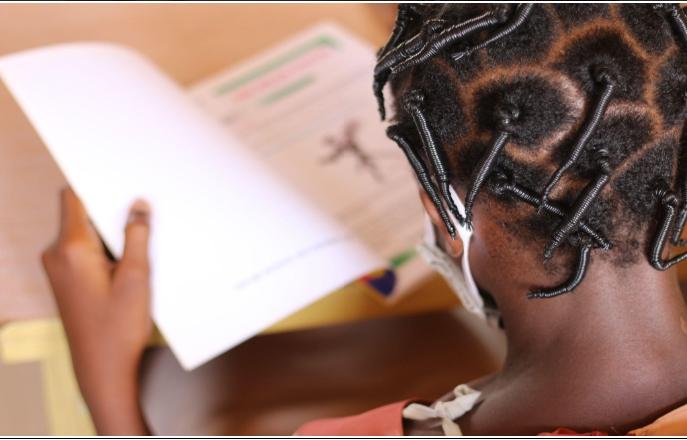 Educating the girl child, student, girl, education